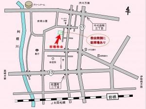 教会地図2014(カラー)